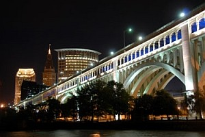 Cleveland Night view
